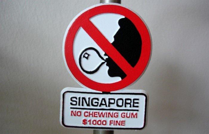 Необычные запреты в разных странах